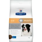 Корм Hill's Prescription Diet k/d + Mobility Kidney+Joint Care для собак диета для поддержания здоровья почек и суставов одновременно 10746, 12 кг