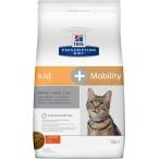 Корм Hill's Prescription Diet k/d + Mobility Kidney+Joint Care для кошек для здоровья почек и суставов одновременно с курицей 10748, 2 кг