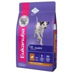 Корм Eukanuba Dog Puppy and Junior для щенков всех пород с ягненком, 12 кг
