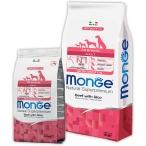 Корм Monge Dog All Breeds Beef and Rice для собак всех пород говядина с рисом, 12 кг