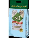 Наполнитель N1 Crystals для кошек, силикагелевый, 5 л, 2 кг