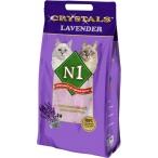 """N1 Силикагелевый наполнитель """"Лаванда"""", 5л (Crystals Lavender): Фиолетовый, 2 кг"""