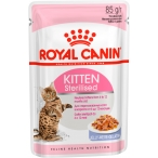 Корм Royal Canin Kitten Sterilised (в желе) для стерилизованных котят от 6 до 12 мес., 85 г