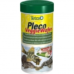 Tetra TetraPleco Veggie Wafers корм для сомиков-присосок, 250 мл