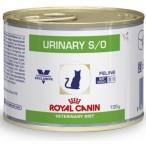 Корм Royal Canin Urinary S/O feline для кошек при МКБ, 195 г