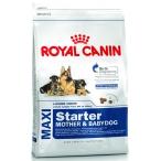 Корм Royal Canin Maxi Starter Mother & Babydog для щенков крупных пород до 2 мес., беременных и кормящих сук, 15 кг