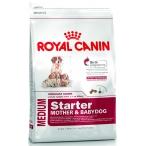 Корм Royal Canin Medium Starter Mother & Babydog для щенков средних пород до 2 мес., беременных и кормящих сук, 12 кг