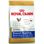 Корм Royal Canin French Bulldog Junior для щенков французского бульдога до 12 мес., 10 кг