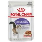 Корм Royal Canin Sterilised (в соусе) для стерилизованных кошек 1-7 лет, 85 г