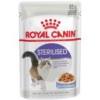 Корм Royal Canin Sterilised (в желе) для стерилизованных кошек 1-7 лет, 85 г