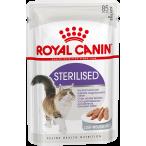 Корм Royal Canin Sterilised (паштет) для стерилизованных кошек старше 1 года, 85 г
