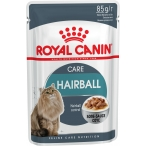 Корм Royal Canin Hairball Care (в соусе) для вывода шерсти, 85 г
