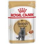 Корм Royal Canin British Shorthair Adult (в соусе) для британских/шотландских пород старше 12 мес., 85 г