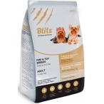 Корм Blitz Adult Mini & Toy Breeds для взрослых собак мелких и миниатюрных пород, 500 г