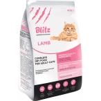 Корм Blitz For Adult Cats Lamb для взрослых кошек ягненок, 10 кг