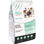 Корм Blitz kitten для котят, беременных и кормящих кошек с индейкой, 10 кг