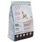 Корм Blitz Lamb & Rice Small Breeds Adult для мелких пород собак с ягненком и рисом, 2 кг