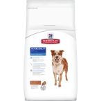 Корм Hill's Science Plan Active Longevity для собак мелких и средних пород старше 7 лет с ягненком и рисом 9273, 12 кг