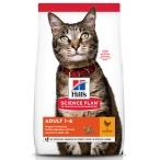 Корм Hill's Science Plan Optimal Care для кошек от 1 до 6 лет курица, 1.5 кг