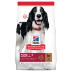Корм Hill's Science Plan Advanced Fitness для собак мелких и средних пород от 1 до 7 лет ягненок с рисом, 12 кг