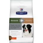 Корм Hill's Prescription Diet Metabolic + Mobility Weight+Joint Care для собак для поддержания оптимального веса и суставов с курицей 10039, 12 кг
