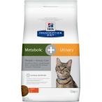 Корм Hill's Prescription Diet Metabolic + Urinary Weight+Urinary Care для кошек для оптимального веса и мочевыводящих путей курица 10040, 1.5 кг