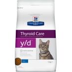 Корм Hill's Prescription Diet y/d Thyroid Care для кошек диета для поддержания здоровья щитовидной железы, 1.5 кг