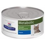 Корм Hill's Prescription Diet Metabolic Weight Management консервы для кошек диета для достижения и поддержания оптимального веса 2102, 156 г