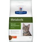 Корм Hill's Prescription Diet Metabolic Weight Management для кошек диета для достижения и поддержания оптимального веса с курицей 2148, 4 кг