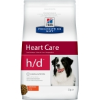Корм Hill's Prescription Diet h/d Heart Care для собак диета для поддержания здоровья сердца с курицей 4357, 5 кг