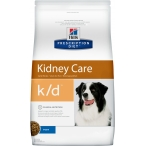 Корм Hill's Prescription Diet k/d Kidney Care для собак диета для поддержания здоровья почек 9182, 12 кг