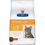 Корм Hill's Prescription Diet c/d Multicare Urinary Care для кошек диета для поддержания здоровья мочевыводящих путей курица 9185, 1.5 кг