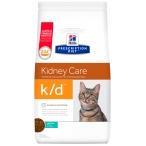 Корм Hill's Prescription Diet k/d Kidney Care для кошек диета для поддержания здоровья почек с тунцом 11142, 1.5 кг