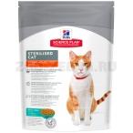 Корм Hill's Science Plan Sterilised Cat для стерилизованных кошек от 6 мес. до 6 лет, с тунцом 9339, 300 г