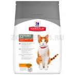 Корм Hill's Science Plan Sterilised Cat для стерилизованных кошек от 6 мес. до 6 лет, курица 9354, 3.5 кг