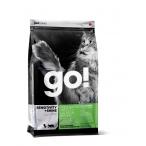Корм Go! Sensitivity & Shine Grain Free Freshwater Trout&Salmon беззерновой для кошек с чувствительным пищеварением: Форель, Лосось, 1.82 кг