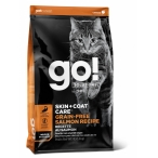 Корм Go! Skin & Coat Grain Free Salmon беззерновой для кошек с Лососем, 1.4 кг