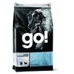 Корм Go! Sensitivity & Shine LID Pollock, Grain&Potato Free беззерновой для собак с чувствительным пищеварением с минтаем, 11.3 кг