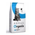 Корм Organix для кошек со свежим лососем и рисом, Adult Cat Salmon, 7.5 кг