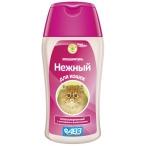 Нежный АВЗ (Агроветзащита) шампунь для кошек, гипоаллергенный, 180 мл