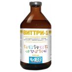Виттри-1 АВЗ (Агроветзащита) для собак и кошек, раствор витаминов А, D3, Е, для орального применения, 100 мл