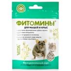 VEDA ФИТОМИНЫ для повышения иммунитета для мышей и крыс, с фитокомплексом, 50 г