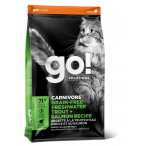 Корм Go! CARNIVORE Grain-Free Freshwater Trout + Salmon Recipe (беззерновой) для кошек с чувствительным пищеварением, форель и лосось, 1.36 кг