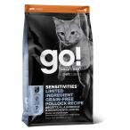 Корм Go! SENSITIVITIES Limited Ingredient Grain FreePollock Recipe (беззерновой) для кошек с чувствительным пищеварением с минтаем, 1.36 кг