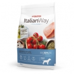 Корм Italian Way Hypoallergenic Medium Salmon & Herrings для собак средних пород с чувствительной кожей, лосось и сельдь, 3 кг