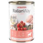 Корм Italian Way Junior (консерв.) для щенков, мясное ассорти с томатами и рисом, 400 г