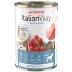 Корм Italian Way Hypoallergenic Salmon (консерв.) для собак с чувствительной кожей, лосось, томаты и рис,400 г
