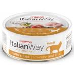 Корм Italian Way Chicken & Rice (консерв.) для кошек, с курицей и рисом, 80 г