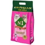 Наполнитель N1 Crystals For Girls для кошек, силикагелевый, 5 л, 2 кг