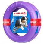 PULLER Midi тренировочный снаряд для собак весом 10-30 кг, 2 кольца, 19,5 см